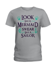 Look like a Mermaid Ladies T-Shirt thumbnail