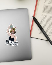 Mental Be Kind To Your Mind Sticker - Single (Vertical) aos-sticker-single-vertical-lifestyle-front-18