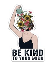 Mental Be Kind To Your Mind Sticker - Single (Vertical) front