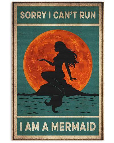 Mermaid Sorry I Can't Run