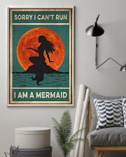Mermaid Sorry I Can't Run 16x24 Poster lifestyle-poster-1