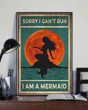 Mermaid Sorry I Can't Run 16x24 Poster lifestyle-poster-2