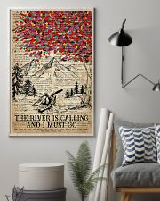Kayaking The River Is Calling 16x24 Poster lifestyle-poster-1