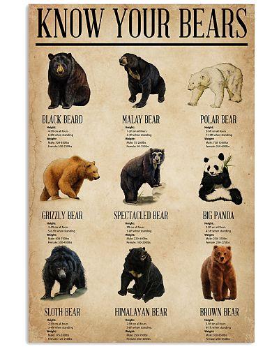 Bear Know Your Bears