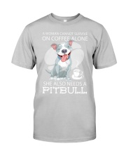 Pitbull Coffee Classic T-Shirt thumbnail