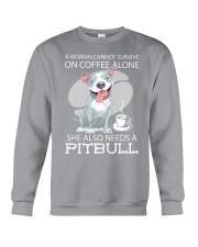 Pitbull Coffee Crewneck Sweatshirt thumbnail