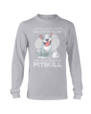 Pitbull Coffee Long Sleeve Tee thumbnail