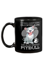 Pitbull Coffee Mug back