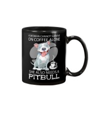 Pitbull Coffee Mug front