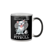 Pitbull Coffee Color Changing Mug thumbnail