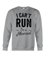 I can't run Crewneck Sweatshirt thumbnail