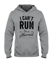 I can't run Hooded Sweatshirt thumbnail