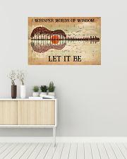 Hippie Let It Be 36x24 Poster poster-landscape-36x24-lifestyle-01