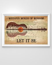 Hippie Let It Be 36x24 Poster poster-landscape-36x24-lifestyle-02