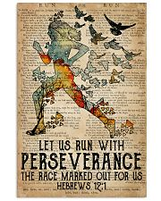 Running Let Us Run 16x24 Poster front