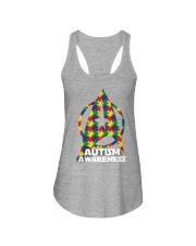 Autism Awareness Ladies Flowy Tank thumbnail