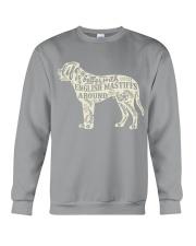 Life is better with english mastiffs around Crewneck Sweatshirt thumbnail