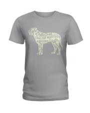 Life is better with english mastiffs around Ladies T-Shirt thumbnail