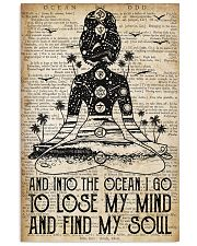 Ocean Find My Soul 16x24 Poster front
