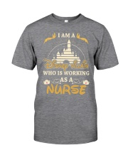 Who is working as a nurse Classic T-Shirt thumbnail