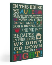 Autism In This House 20x30 Gallery Wrapped Canvas Prints front