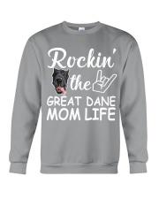 Great dane mom life Crewneck Sweatshirt thumbnail