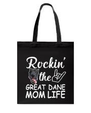 Great dane mom life Tote Bag thumbnail