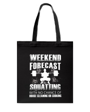 Weekend forecast Tote Bag thumbnail