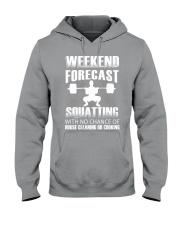 Weekend forecast Hooded Sweatshirt thumbnail