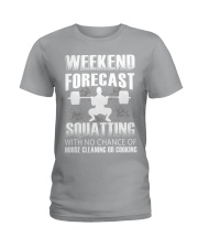 Weekend forecast Ladies T-Shirt thumbnail