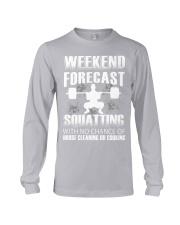 Weekend forecast Long Sleeve Tee thumbnail