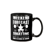 Weekend forecast Mug thumbnail
