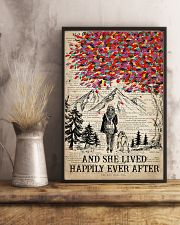 Hiking Happily ever After 16x24 Poster lifestyle-poster-3