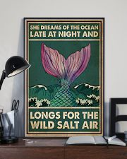 Mermaid She Dreams Of The Ocean 16x24 Poster lifestyle-poster-2