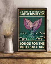 Mermaid She Dreams Of The Ocean 16x24 Poster lifestyle-poster-3