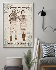 Running Somos Un Equipo 24x36 Poster lifestyle-poster-1
