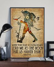 Hiking Lead Me To The Rock 16x24 Poster lifestyle-poster-2