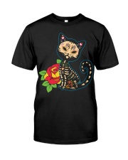 Cat Day of the Dead Classic T-Shirt thumbnail