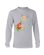 Cat Day of the Dead Long Sleeve Tee thumbnail