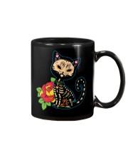 Cat Day of the Dead Mug thumbnail