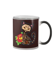 Cat Day of the Dead Color Changing Mug thumbnail