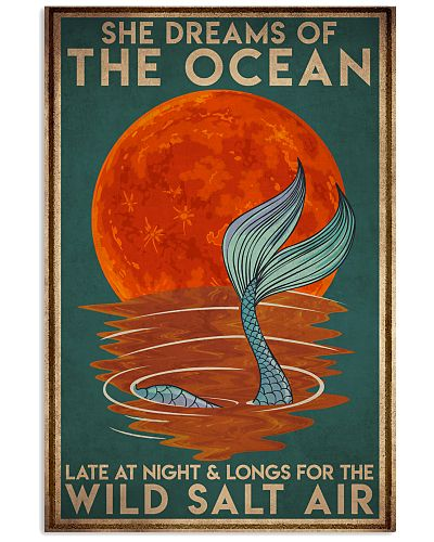 Mermais She Dreams Of The Ocean