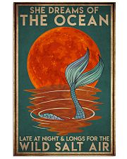 Mermais She Dreams Of The Ocean 16x24 Poster front