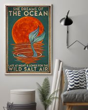 Mermais She Dreams Of The Ocean 16x24 Poster lifestyle-poster-1