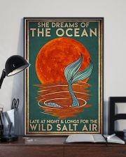 Mermais She Dreams Of The Ocean 16x24 Poster lifestyle-poster-2