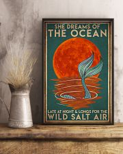 Mermais She Dreams Of The Ocean 16x24 Poster lifestyle-poster-3