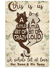 Cat This Is Us 16x24 Poster front