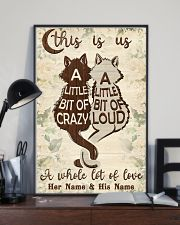 Cat This Is Us 16x24 Poster lifestyle-poster-2
