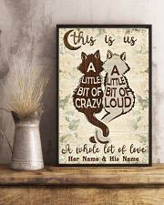 Cat This Is Us 16x24 Poster lifestyle-poster-3
