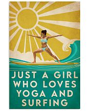 Surfing And Yoga 16x24 Poster front
